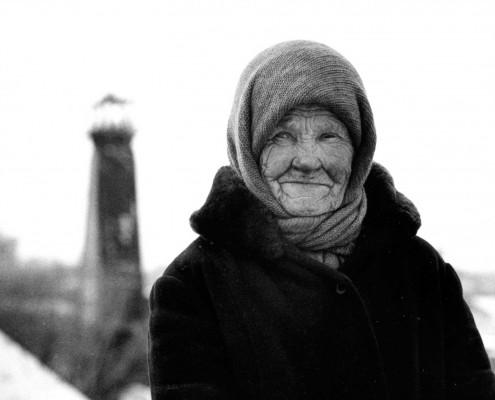 Während einer Reportage im westsibirischen Prokopjewsk begegnete ich Mütterchen Russland auf einer Kohlenhalde