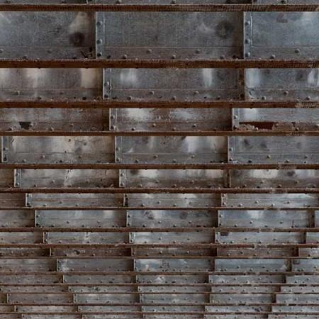 Industriegeschichte im Raster – Deckenkonstruktion einer Fabrikhalle